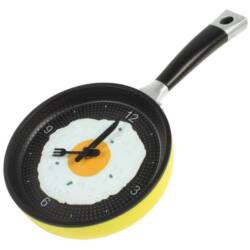 Palacsintasütő formájú óra