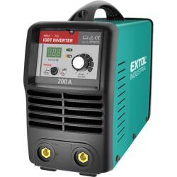 EXTOL Industrial Inverter hegesztőtrafó 200 A tartozékok nélkül 8796012