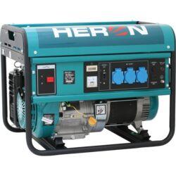 HERON Benzinmotoros áramfejlesztő, max 5500 VA, egyfázisú (EGM-55 AVR-1)