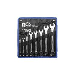 Csillag-villás kulcs készlet, 6 - 19 mm  8 részes tokban (BGS-1192)