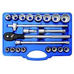 """21 részes 3/4"""" Gear Lock dugókulcs készlet (BGS-1224)"""