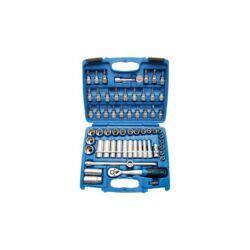 """61 részes dugókulcs készlet 3/8"""", 6 lapú Pro Torque dugókulcsok (BGS-2218)"""
