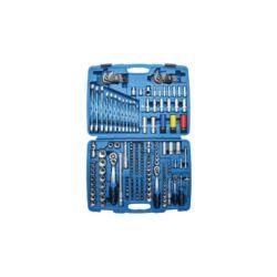 """176 részes dugókulcs készlet műanyag kofferben 1/4"""", 3/8"""", 1/2"""", 5/16"""" (BGS-2290)"""