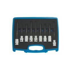 """9 részes  speciális hengerfej bit dugókulcs készlet 1/2"""" dobozban (BGS-5014)"""