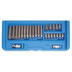 26 részes biztonsági T-torx bit készlet (BGS-5022)