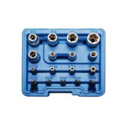 17 részes E-torx dugókulcs készlet (BGS-5023)