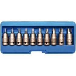 10 részes gépi T-torx dugókulcs készlet, T20 - T70 dobozban (BGS-5097)