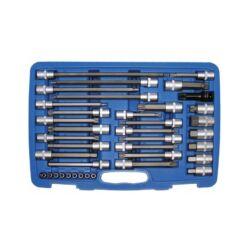 38 részes autószerelő bit készlet bőröndben (BGS-5184)
