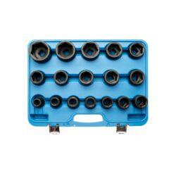 """17 részes 3/4"""" gépi dugókulcs készlet 19-55 mm (BGS-5242)"""