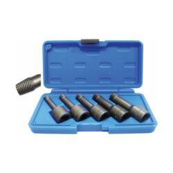 """5 darabos különleges  törtcsavar eltávolító készlet, 8 -16 mm, 1/2"""" meghajtással (BGS-5261)"""