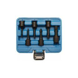 """6 darabos különleges törtcsavar eltávolító készlet, 2 -10 mm, 3/8"""" meghajtással (BGS-5281)"""
