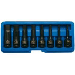 """9 részes gépi bit-dugókulcs imbusz, 5-19 mm, 1/2"""" dobozban (BGS-5481)"""