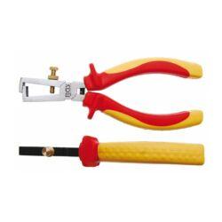 VDE vezetékcsupaszító fogó, 160 mm (BGS-7156)