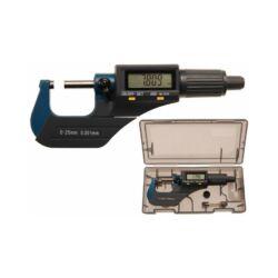 Digitális mikrométer, 0-25 mm (BGS-8427)