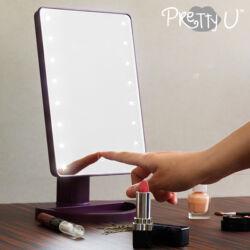 Pretty U LED Asztali Tükör