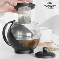 Bravissima Kitchen Eclipse Teáskanna Szűrővel és Fedővel