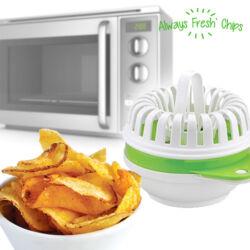 Always Fresh Chips Mikrohullámú Edény Sültkrumpli Készítéséhez