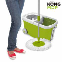 Kong Mop Forgatható Felmosófej és Kerekes Vödör