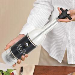 Üveg Formájú só és Borsörlő