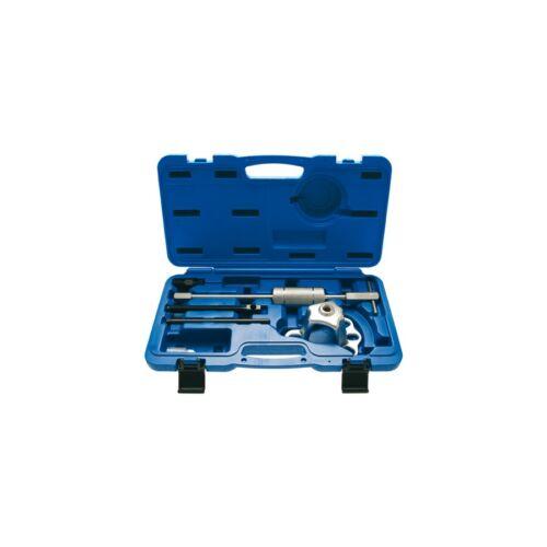 6 részes kerékagy (4 és 5 csavaros) lehúzó csúszósúllyal bőröndben (BGS-7745)
